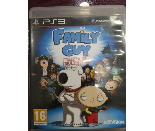 7-7-19081-1-FAMILY GUY BACK TO THE MULTIVERSE juego ps3